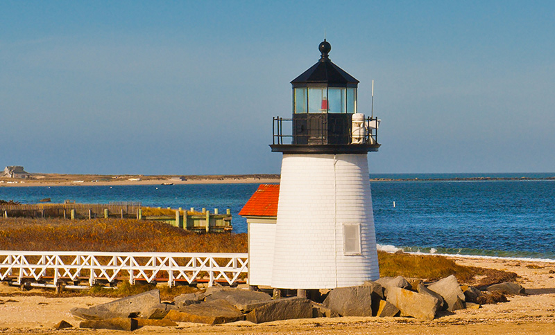 Nantucket Island in Massachusetts