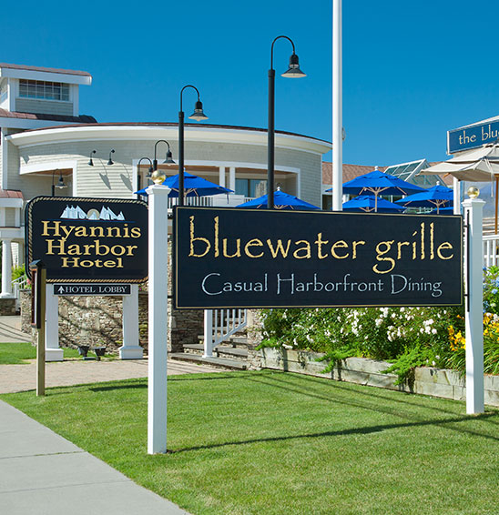 Hyannis Harbor Hotel - The Bluewater Grille