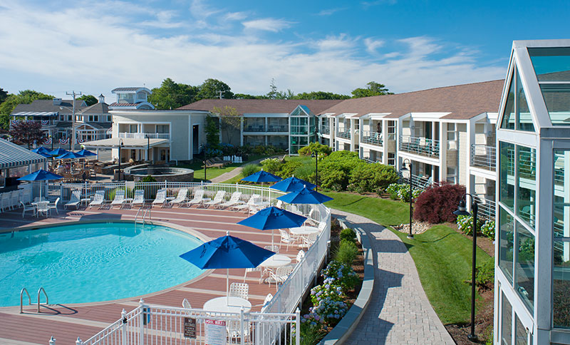 Hyannis Harbor Hotel Outdoor Pool & Sundeck